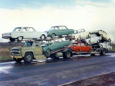1960 Ford Falcons