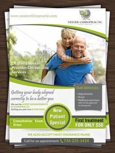 Realtor A Promotional Flyer Httppremadevideoscomaflyer - Chiropractic brochures template