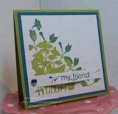 Rainforest Friend by Princessforj - Cards and Paper Crafts at Splitcoaststampers