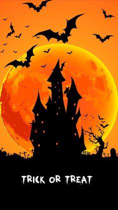 Photo Halloween, Vintage Halloween Cards, Halloween Scene, Halloween Poster, Halloween Haunted Houses, Halloween Pictures, Halloween House, Holidays Halloween, Spooky Halloween