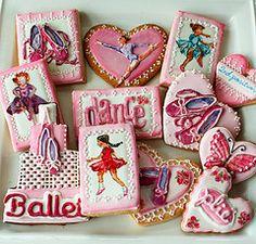 Ballet Cookies by SUGAR RUSH CUSTOM COOKIES