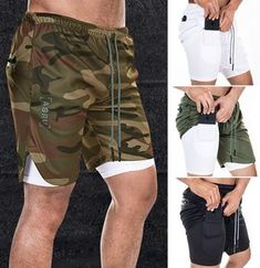 Men's Large Size Quick Dry Sports Fitness Shorts Sports Trousers, Sport Pants, Workwear Shorts, Athletic Outfits, Athletic Clothes, Men's Bottoms, Camouflage Pants, Mens Sweatpants, Shorts With Pockets
