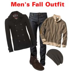 """""""Men's Fall Outfit"""" by beng-gallo on Polyvore"""