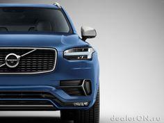 Кроссовер Вольво ХС-90 R-Design 2015 / Volvo XC90 R-Design 2015 – передняя фасция