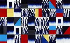 Jun Kaneko's Untitled Ceramic Tile Wall