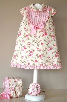 {Typical and customized little one robe, gives the best answer. Little Girl Fashion, Kids Fashion, Little Girl Dresses, Girls Dresses, Frocks For Girls, Girl Dress Patterns, Toddler Girl Dresses, Toddler Girls, Kind Mode