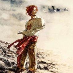 Shanks,Red-Haired Shanks - One Piece,Anime