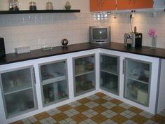 etonnant realiser une cuisine en siporex home improvement warehouse calgary flyer Aluminum Kitchen Cabinets, Aluminium Kitchen, Home Decor Kitchen, Interior Design Kitchen, Kitchen Furniture, Concrete Kitchen, Kitchen Flooring, Kitchen Walls, Modern Exterior Doors