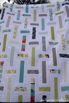 Lawn Chair Quilt from The Accidental Crafter blog (which I can no longer find).