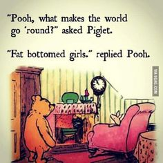 Pooh dropping some Wisdom.