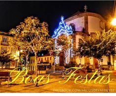 Votos de Boas Festas desde Arcos de #Valdevez :D - http://ift.tt/1MZR1pw -