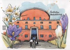 Stockholms stadsbibliotek | por nina drawing