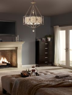 Marcella Chandelier from Murray Feiss Lighting