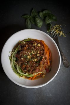 VEGAN SPAGHETTI BOLOGNESE : The Healthy Chef – Teresa Cutter