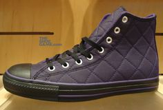 be5877b4f20 Converse All Star Quilted Hi Purple ~ so me. so me. Converse Chuck Taylor