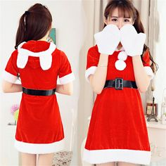 2016 Women Christmas Festival Party Cosplay Uniform Cute Rabbit Banny Role Playing Santa Clause for Adult Girl Sexy Red Uniform♦️ B E S T Online Marketplace - SaleVenue ♦️👉🏿 http://www.salevenue.co.uk/products/2016-women-christmas-festival-party-cosplay-uniform-cute-rabbit-banny-role-playing-santa-clause-for-adult-girl-sexy-red-uniform/ US $14.78
