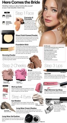 25 ideas wedding makeup for brown eyes rustic make up for 2019 - Wedding Makeup Glam Bobbi Brown Makeup Looks, Wedding Makeup For Brown Eyes, Blue Eye Makeup, Diy Makeup Vanity, Makeup Ads, Bridal Makeup Tips, Bride Makeup, Braut Make-up, Jessie