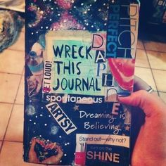 Wreck This Journal Cover