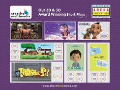 2D & 3D Animation Award winning short films - Arena Animation Dilsukhnagar Award Winning Short Films, Learn Animation, 2d, Comics, Learning, Comic Book, Comic Books, Study, Comic