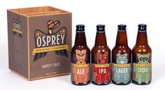 Osprey Brewing Company variety pack Beer fun : ) PD