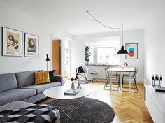 Muebles ligeros para ganar espacio visual