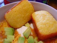 Corn bread made with yellow cake mix and jiffy cornbread mix. Our favorite corn bread recipe!