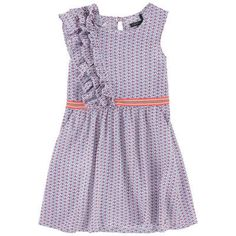 Ikks - Printed dress with flounces - 204920