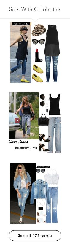 """""""Sets With Celebrities"""" by im-karla-with-a-k ❤ liked on Polyvore featuring Britney Spears, Current/Elliott, G.H. Bass & Co., T By Alexander Wang, Victoria Beckham, Twenty, Tod's, McQ by Alexander McQueen, Givenchy and Lady Godiva"""