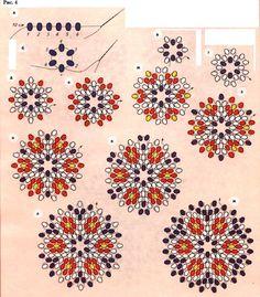 off loom beading techniques Beaded Flowers Patterns, Beaded Necklace Patterns, Beading Patterns Free, Seed Bead Patterns, Beading Tutorials, Beading Ideas, Weaving Patterns, Beading Supplies, Seed Bead Bracelets