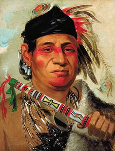 Chee-me-nah-na-quet, Great Cloud, son of Grizzly Bear: 1831