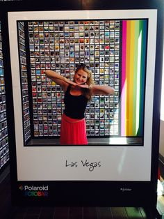 Off the strip in Vegas at the Polaroid shop. Lots of fun touristy things to do during the day.