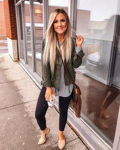 Chic and casual outfits 2019 charming, spring summer outfits ideas nice gorgeous teen fashion outfits Cute Fall Outfits, Fall Winter Outfits, Stylish Outfits, Casual Mom Outfits, Casual Mom Style, Stylish Clothes, Women Fall Outfits, Fall Outfit Ideas, Casual Date Night Outfit Summer