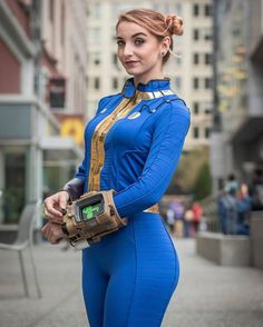 HelloIAmKate - Fallout Sole Survivor - Cosplay - Fallout Fallout Costume, Fallout Cosplay, Amazing Cosplay, Best Cosplay, Deepika Padukone, Cosplay Girls, Cosplay Costumes, Game Costumes, Avengers