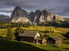 Alpe di Siusi in late afternoon light by Hans Kruse on 500px