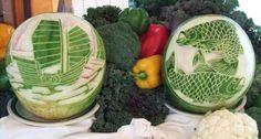 Fruit art 17 Carving van Groenten en Fruit