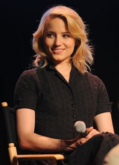 """Dianna Agron Photos - Singer Dianna Agron attends the """"Glee"""" Academy Screening and Q&A on May 2011 in Hollywood, California. - """"Glee"""" Academy Screening And Q&A Diana Argon, Emma Watson Hair, Quinn Fabray, Glee Cast, Mean Girls, Celebs, Celebrities, Girl Crushes, Woman Crush"""