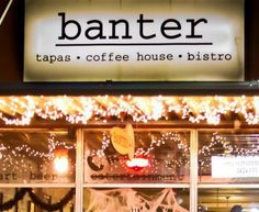Looking for things to do in Denton? How about having a date at Banter in the heart of downtown Denton. Coffee, good food, and awesome local music? Yes, please.