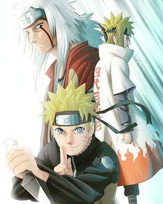 Jiraya, Naruto e Minato Naruto Shippuden Sasuke, Naruto Kakashi, Anime Naruto, Jiraiya And Tsunade, Wallpaper Naruto Shippuden, Naruto Wallpaper, Naruto Art, Gaara, Thor Wallpaper