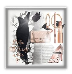 """""""Guilty of Being Beautiful"""" by rachella-xoxo ❤ liked on Polyvore featuring Élitis, Jayson Home, Chanel, Scala, RED Valentino, Allurez, Azzaro, beautiful, Elegant and blackdress"""