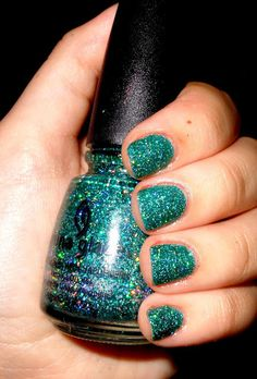 China Glaze Atlantis. I will make it my life mission to get a hold of this color.