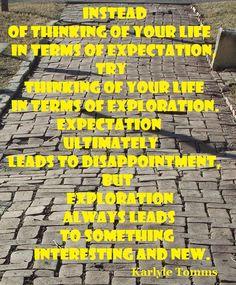 #ThinkBIGSundayWithMarsha #quotes #exploration