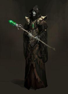 feiticeiro esqueleto