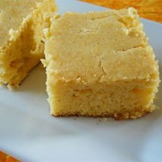 "Homesteader Cornbread | ""This moist cornbread with a crisp, golden crust is great with chili or as a quick side dish."""