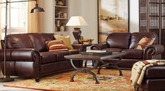 Affordable living room sets for sale: formal, contemporary, modern, traditional styles in red, white, brown, black, and more. #iSofa #roomstogo