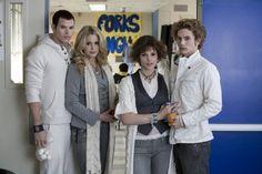 Still of Nikki Reed, Kellan Lutz, Jackson Rathbone and Ashley Greene in Twilight