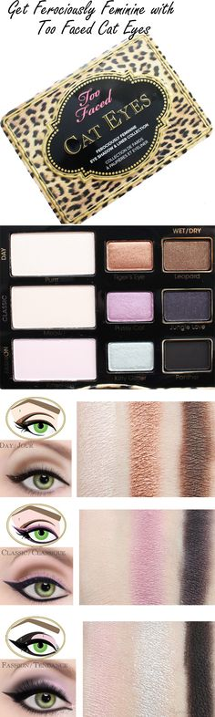 Too Faced Cat Eyes Palette Review. I mostly just want this for the packaging. @TooFaced #ownyourpretty