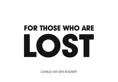 Ever found yourself to be lost?