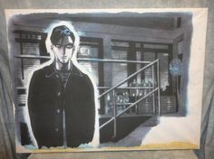 Heroes Isaac Mendez Unfinished Painting of Peter Standing in Isaacs Loft | #eBay #heroes