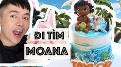 #12 - Hướng Dẫn Nặn Công Chúa MOANA - Bánh kem bơ xinh xắn. - YouTube Fondant, Birthday Cake, Children, Youtube, Sweets, Young Children, Boys, Gummi Candy, Birthday Cakes