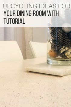 Upcycling ideas DIY to stone coat your dining table from The Wardrobe Stylist. Upcycling ideas for your home to revamp any worn out surface such as countertops, tables, floors, backsplash with natural stone finish. Upcycling ideas, easy DIY projects to repurpose furniture, decor, be creative for indoor our outdoor use #DIY #Decor HomeDecor #Upcycling